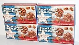 Texas Chewie Pecan Pralines - 4 (2 Oz.) Boxes