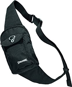 Spalding - Riñonera bandolera negro negro Talla:24 x 15