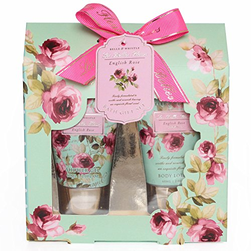 gloss-set-di-prodotti-da-bagno-les-belles-fleurs-aroma-rosa-2-pz