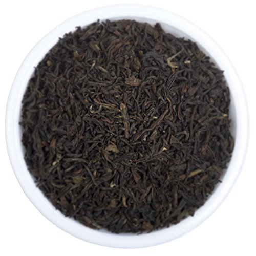 Premium Darjeeling Organic Black Tea - Best Loose Leaf Second Flush Tea Includes Powerful Antioxidants and Minerals - Makes Healthy Kombucha - Fresh Black Tea From 2016 Harvest (Keurig Darjeeling Tea compare prices)