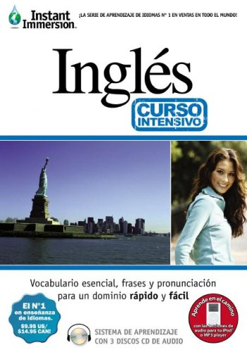 Instant Immersion Ingles Curso Intensivo/Instant Immersion English Crash Course (Aprendiazaje De Idiomas)