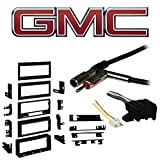 Fits GMC S-15/Sonoma 1986-1992 SDIN Aftermarket Harness Radio Install Dash Kit