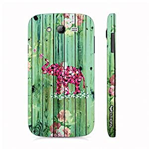 Samsung Galaxy Core Prime Elephant Art 7 designer mobile hard shell case by Enthopia