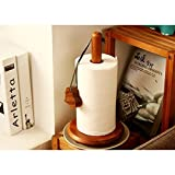 Onlineshoppee Wood Tissue Holder/Table Decoration Tissue Pumping Napkin Holder Size(LxBxH-17x17x32)Cm