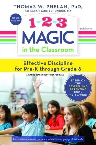 1-2-3 Magic in the Classroom: Effective Discipline for Pre-K through Grade 8 (Magic 1 2 3 compare prices)