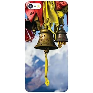Via flowers Back Cover For Apple iPhone 5C Bell Multi Color