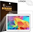 Mr Shield Samsung Galaxy Tab 4 10.1 10inch Anti-glare [Matte] Screen Protector [3-PACK] with Lifetime Replacement Warranty