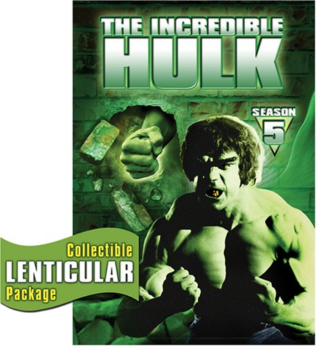 Incredible Hulk: Complete Fifth Season [DVD] [Import]