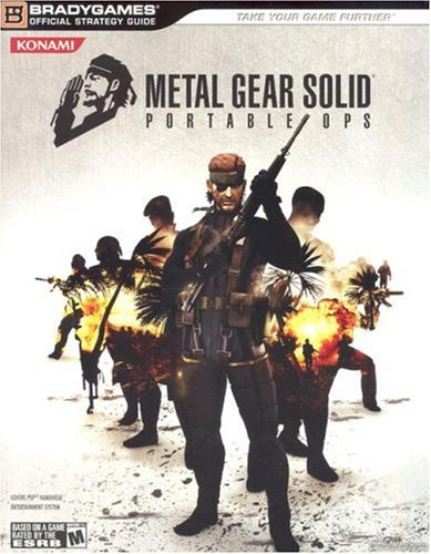 Metal Gear Solid: Portable Ops Official Strategy Guide, BradyGames