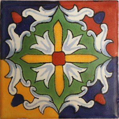 2x2 36 pcs Veneto Talavera Mexican Tile