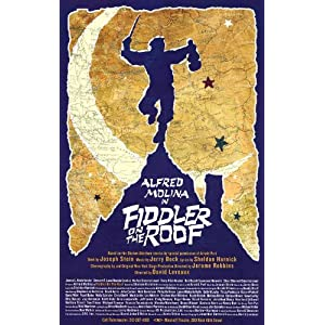 Fiddler on the Roof Poster Broadway Theater Play 11x17