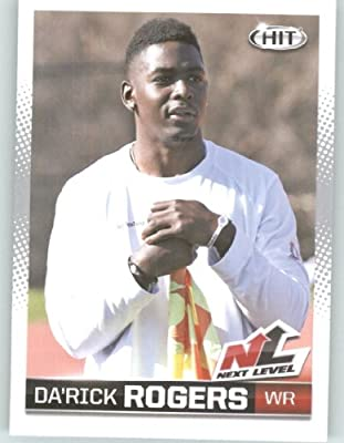 2013 Sage Hit Football Card #91 Da'Rick Rogers NL / Tennessee Tech - Buffalo Bills (Next Level - Rookie Insert) NFL Trading Cards