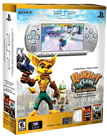 PlayStation Portable Limited Edition Ratchet & Clank Entertainment Pack - Mystic Silver