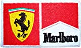 FERRARI Marlboro Formula 1 one F1 Vintage Racing Team logo t-Shirts Embroidered Iron or Sew on Patch by Wonder Fullmoon