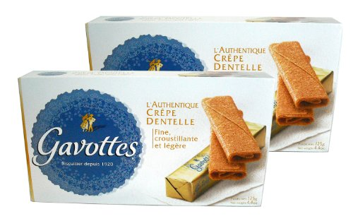 Gavottes - Crispy Lace Crepes From France 2 Packs 2x24 Crepes 2x4.4oz