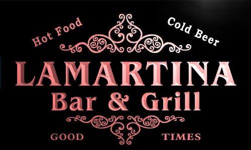 u25122-r-lamartina-family-name-bar-grill-home-beer-food-neon-sign-barlicht-neonlicht-lichtwerbung