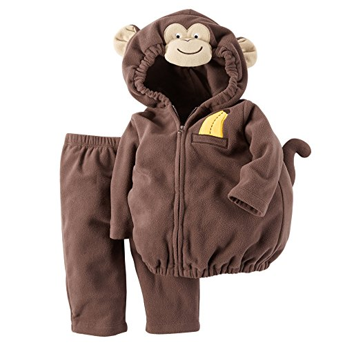 Carter's Baby Boys' Little Monkey Costume (18M, Brown)