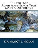 img - for 101 College Admissions Essays That Made a Difference book / textbook / text book