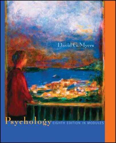 Psychology, Eighth Edition, in Modules (Psychology Myers Modules compare prices)