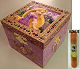 Disney Parks Tangled 'Rapunzel' Musical Jewelry Box - Disney Parks Exclusive & Limited Availability + BONUS Snow White Double Sided Stamp Included