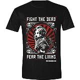 Walking Dead Men's the Daryl Dixon Fight Poster T-Shirt, Black, Large