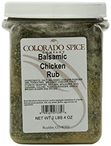 Colorado Spice Balsamic Chicken Rub, 36-Ounce