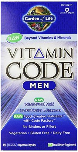 Garden Of Life Vitamin Code Men 39 S Multi Vitamin Capsules