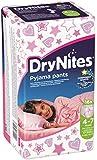 Huggies  DryNites 4-7 ans Fille (17-30kg) x16 - Lot de 2