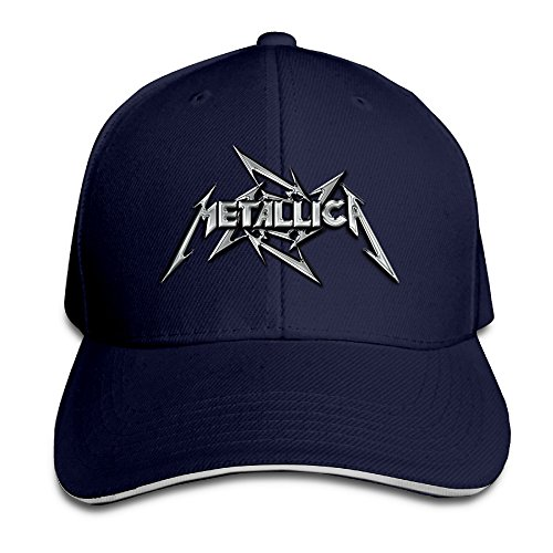Logon 8 Metallica Mental Band Personalize Hats Navy One Size (Metallica Devil Shirt compare prices)