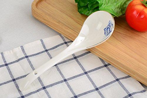 porlien chinois famille Bleu Fleur Porcelaine de table Series