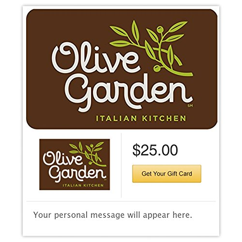 Olive Garden - E-mail Delivery (Electronic Gift Cards Restaurants compare prices)