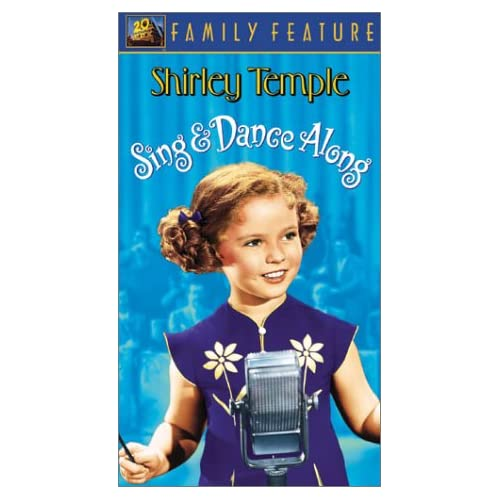 Amazon.com: Shirley Temple Sing & Dance Along [VHS]: Shirley Temple