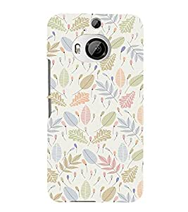 EPICCASE Simplicity Mobile Back Case Cover For HTC One M9 Plus (Designer Case)