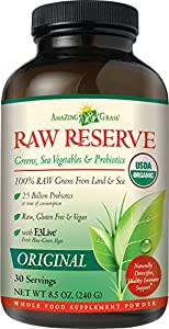 Amazing Grass Raw Reserve Original, 30 Servings, 8.5 Ounces