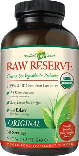 Amazing Grass Raw Reserve Original, 30 Servings, 8.5 Ounces