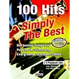 "100 Hits Simply The Best mit 5 Playback CDs: Die besten Songs aus Pop, Rock, Stimmung, Evergreens, Schlager, Oldies...von ""Helmut Hage"""