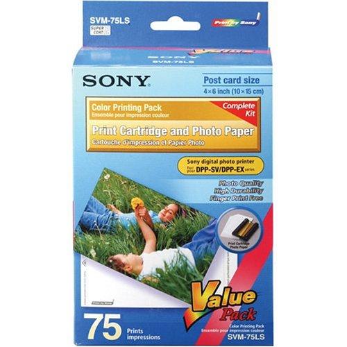 SONY SVM-75LS Encre+Papier 75 Photos 10X15cms