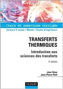 Amazon.fr - Transferts thermiques : Cours et exercices ...