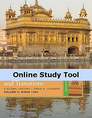 History CourseMate (with eBook, Wadsworth World History Resource Center, InfoTrac) for Lockard's Societies, Networks, and Transitions, Volume 2: Since 1450, 2nd Edition