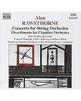 Rawsthorne : Concerto pour orchestre à cordes - Divertimento pour orchestre de chambre