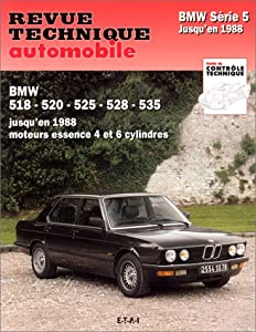 RTA 356.6 BMW SÃ&copyrie 5 jusqu'en 1988