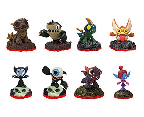 Skylanders Trap Team 8 Mini Character Lot