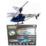 Viefly V8 Indoor Helicopter With LED Light and Auto DEMO Featured (Authentic Viefly Brand)-Color May Vary