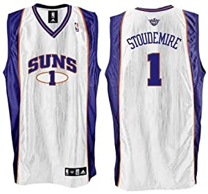 Amare Stoudemire Phoenix Suns #1 Authentic Adidas NBA Basketball Jersey (Home White) by adidas