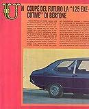 1967 Fiat 125 Bertone Article Italy