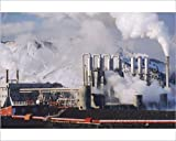 Photographic Print of Geo-thermal power plant