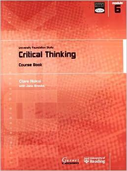 critical thinking university courses
