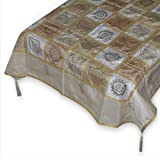 Square Table Runner Printed Silk Dining Accessoryby DakshCraft