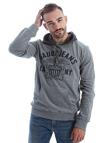 Gaudi jeans 62BU64108 Felpa Uomo Grigio M