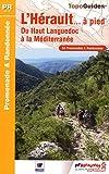 echange, troc FFRandonnée - L'Hérault à pied : 54 promenades & randonnées